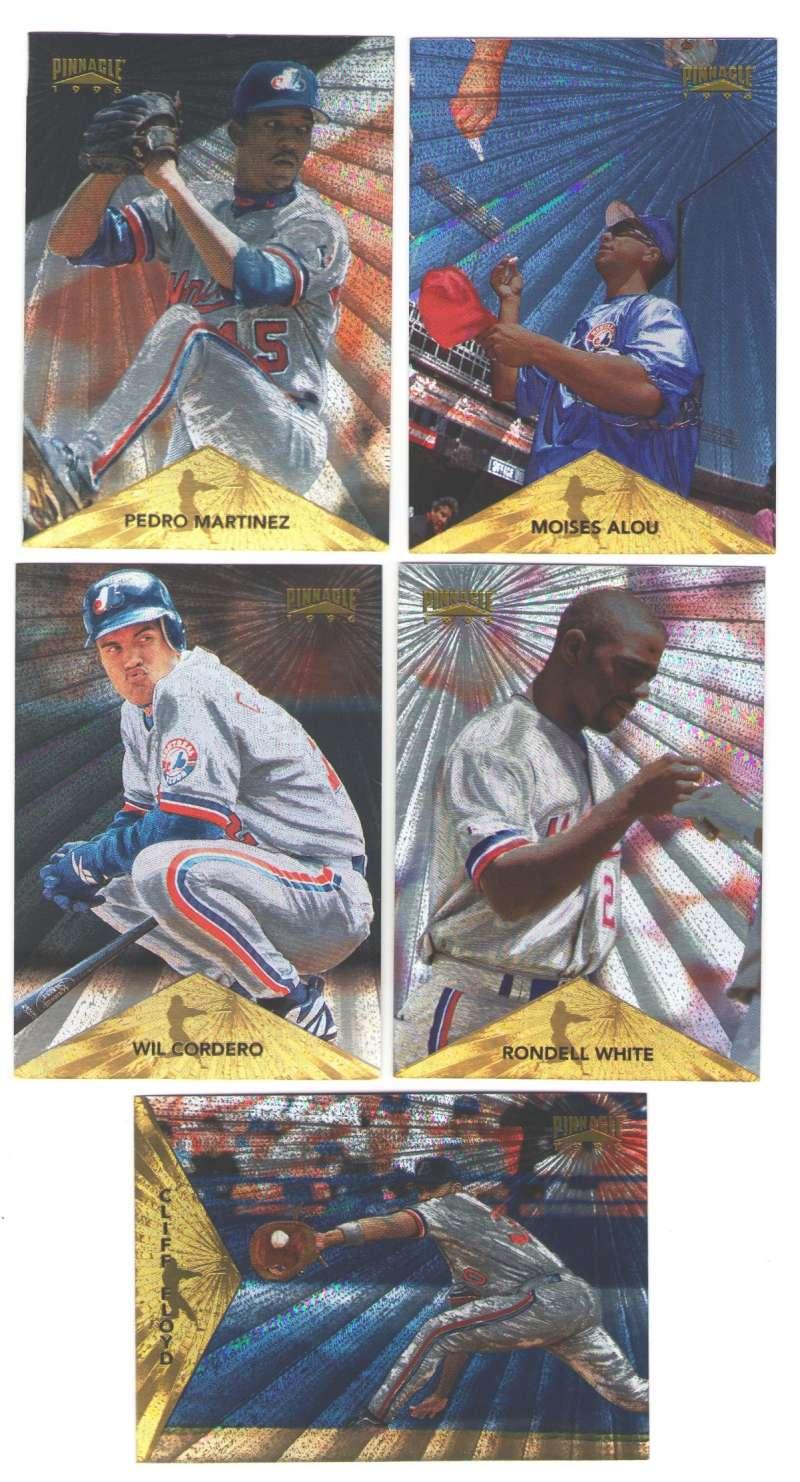 1996 Pinnacle Starburst - MONTREAL EXPOS Team Set