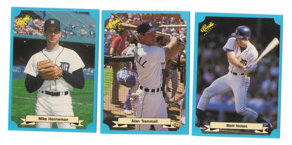 1988 Classic Blue - DETROIT TIGERS Team Set