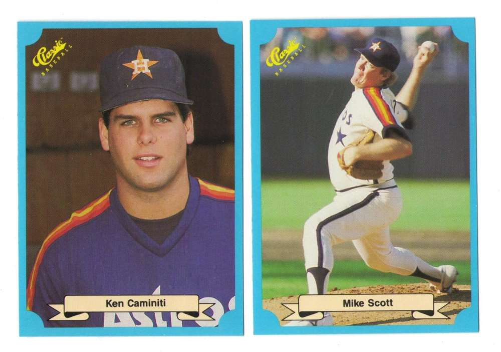 1988 Classic Blue - HOUSTON ASTROS Team Set