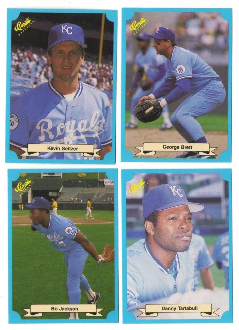 1988 Classic Blue - KANSAS CITY ROYALS Team Set