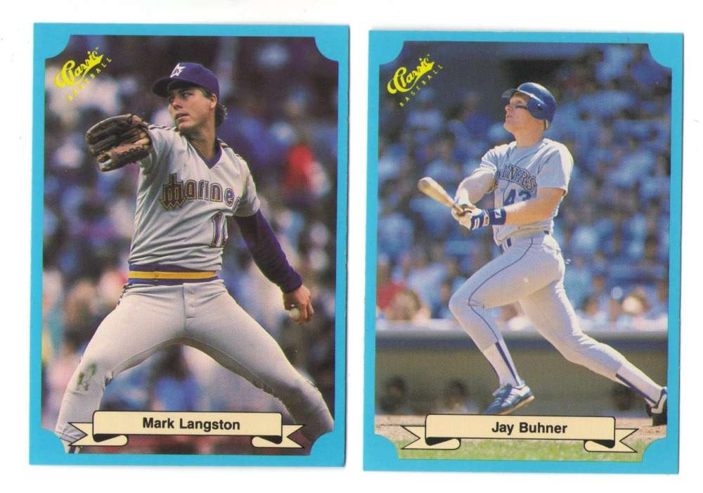 1988 Classic Blue - SEATTLE MARINERS Team Set