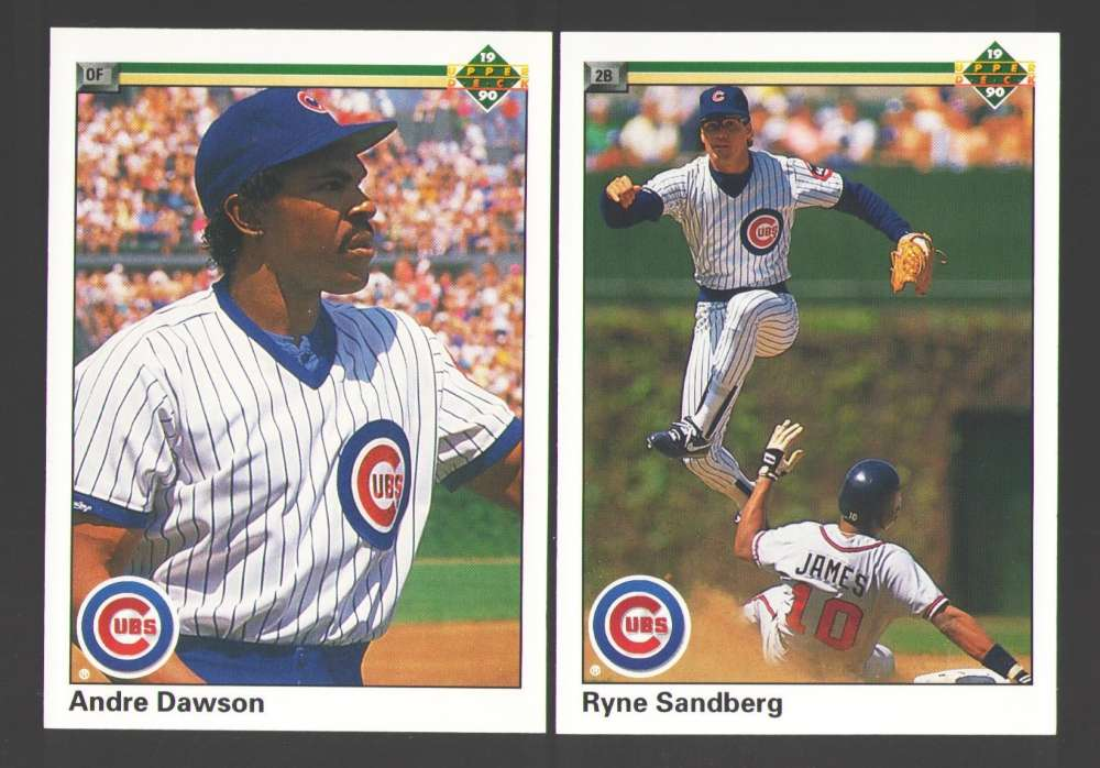 1990 UPPER DECK - CHICAGO CUBS Team Set