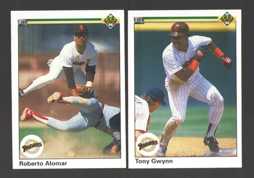 1990 UPPER DECK - SAN DIEGO PADRES Team Set