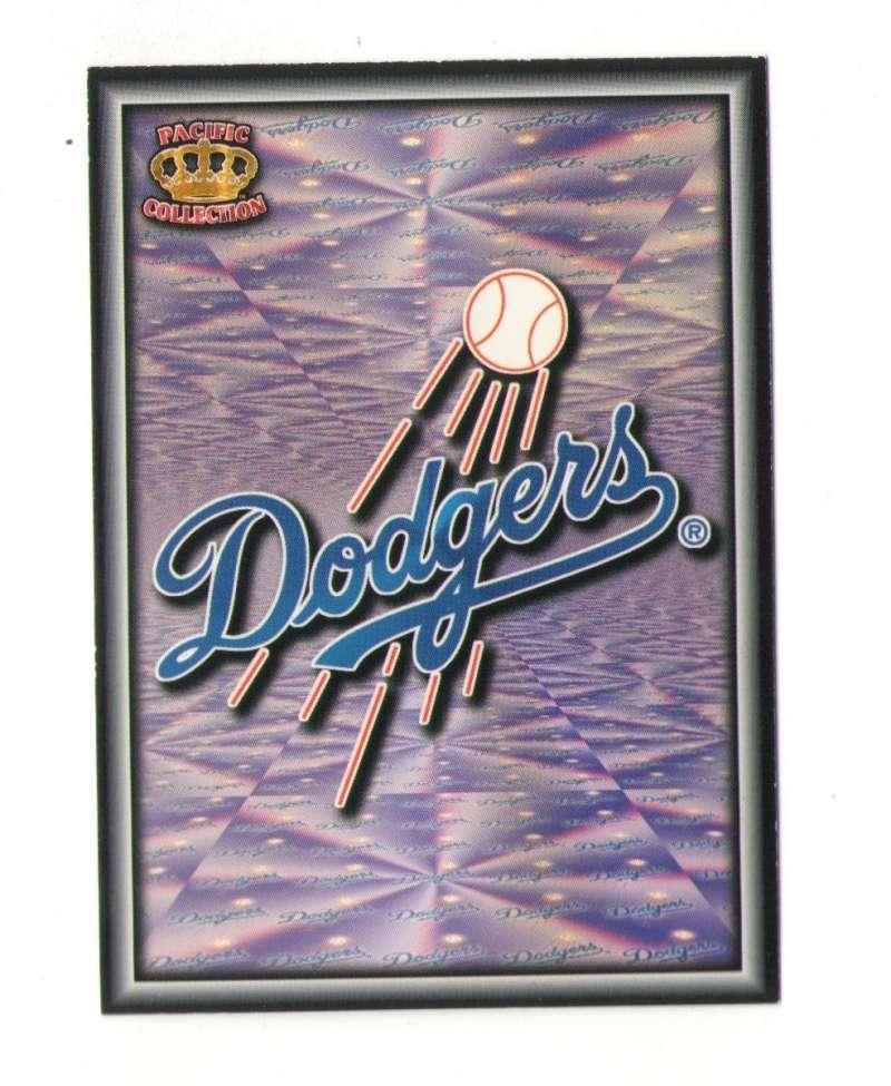 1996 Pacific Prism Team Logo - LOS ANGELES DODGERS