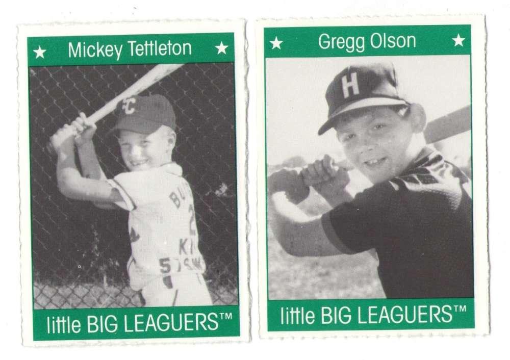 1991 Little Big Leaguers - BALTIMORE ORIOLES Team Set