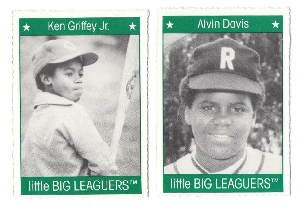 1991 Little Big Leaguers - SEATTLE MARINERS Team Set