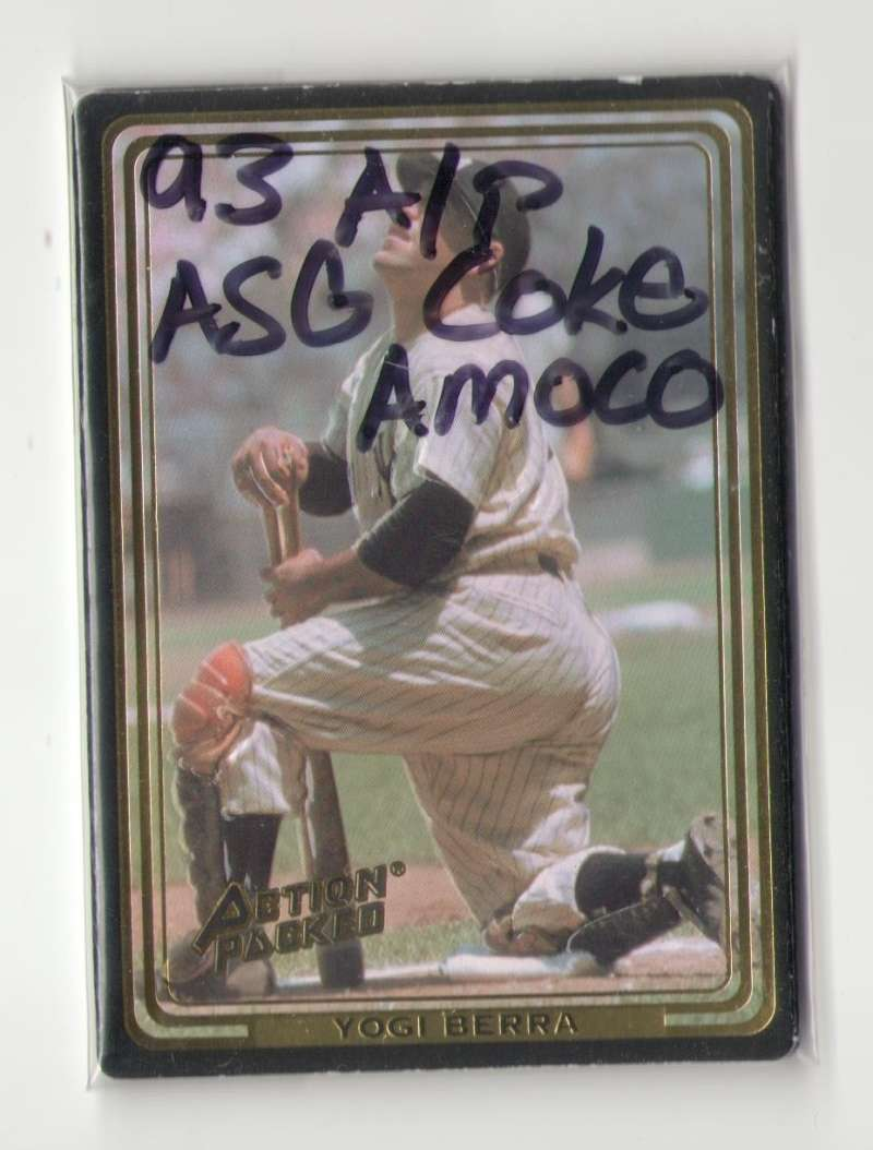 1993 Action Packed ASG Coke/Amoco - NEW YORK YANKEES Team Set