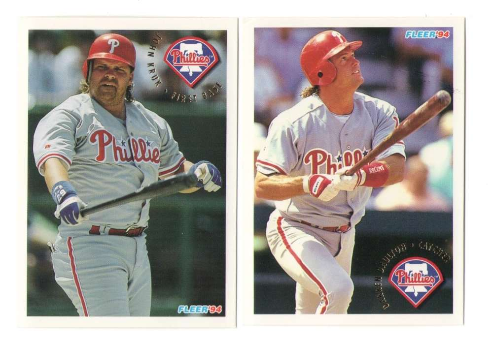 1994 Fleer - PHILADELPHIA PHILLIES Team Set