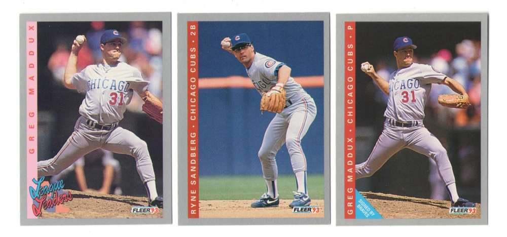 1993 FLEER - CHICAGO CUBS Team Set