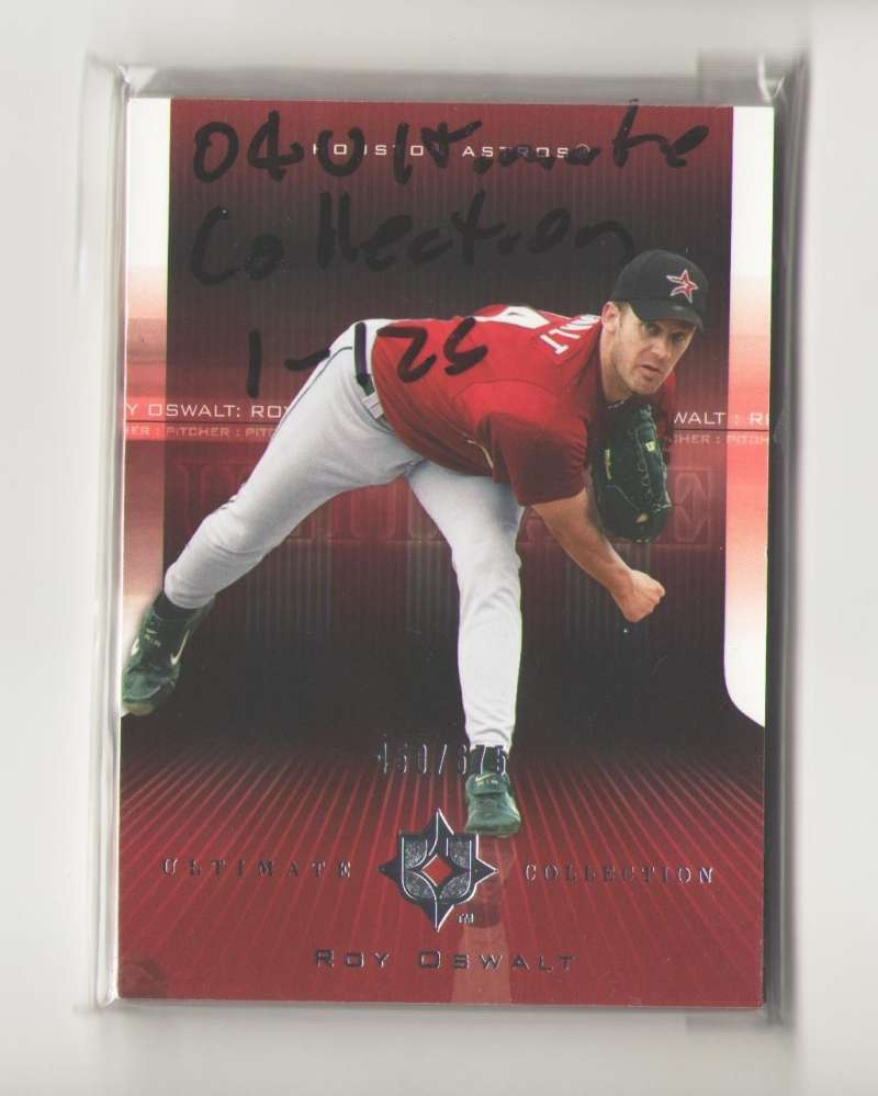 2004 Ultimate Collection (1-126) - HOUSTON ASTROS Team Set (#ed/ 675)