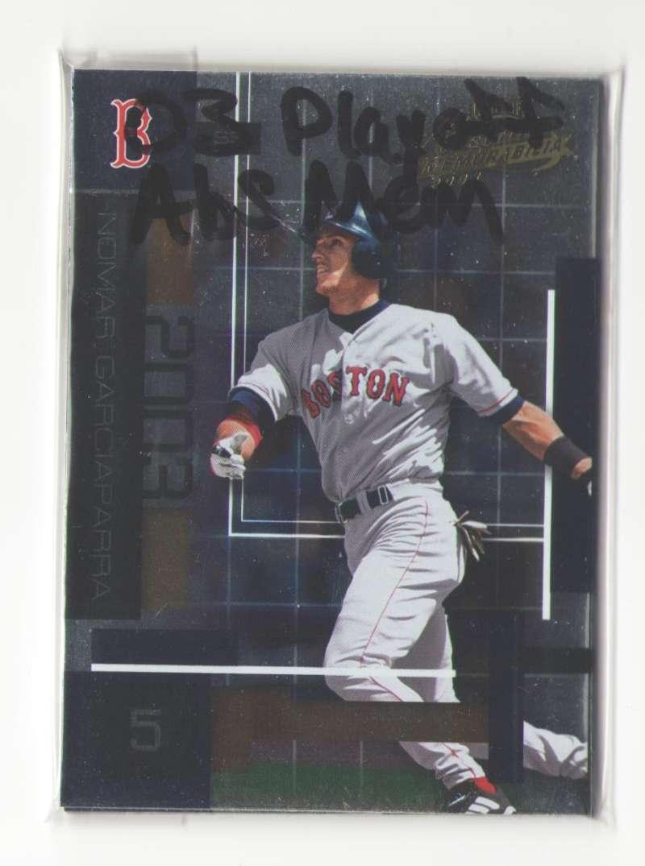 2003 Playoff Absolute Memorabilia - BOSTON RED SOX Team Set