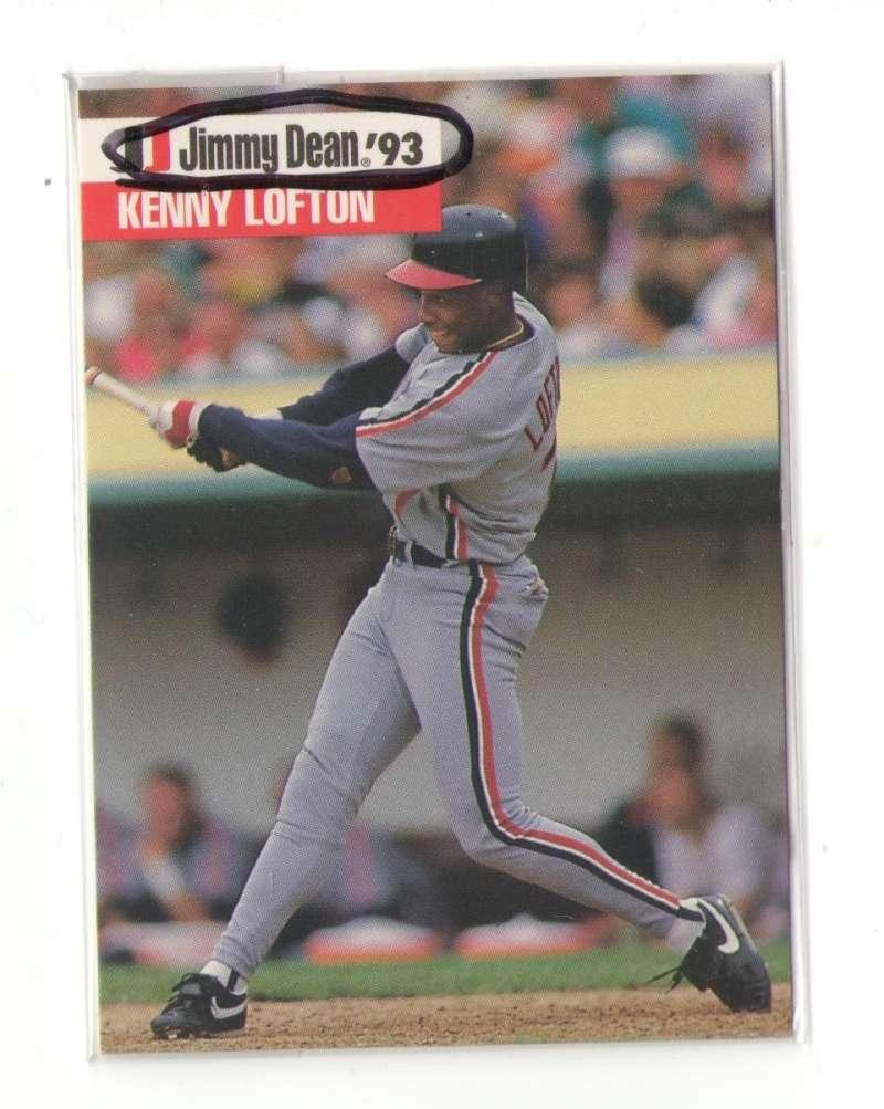 1993 Jimmy Dean - CLEVELAND INDIANS Team Set