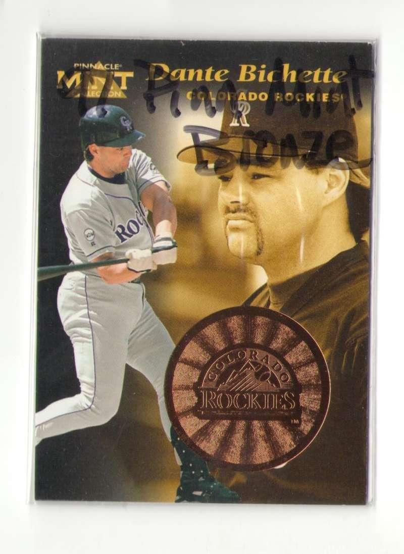 1997 Pinnacle Mint Bronze COLORADO ROCKIES
