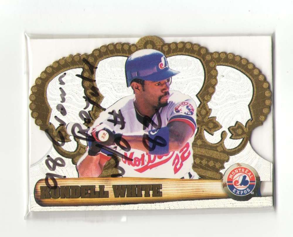 1998 Pacific Crown Royale - MONTREAL EXPOS Near Team Set -1