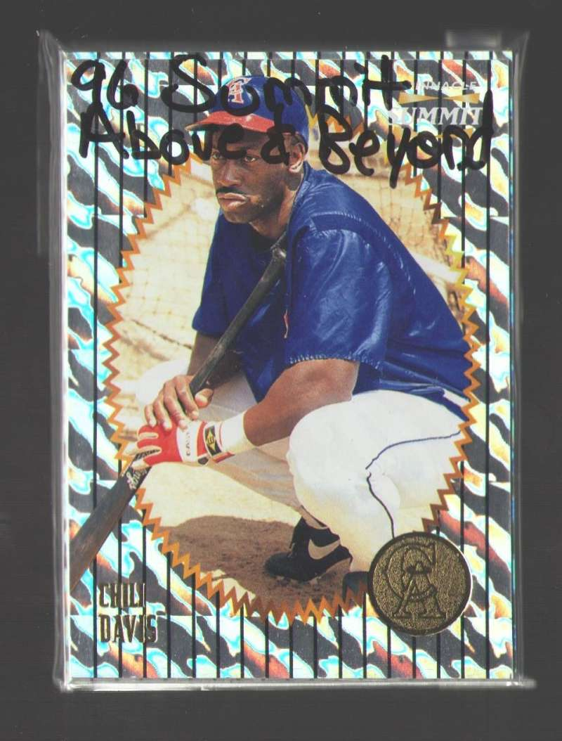 1996 Summit Above and Beyond - CALIFORNIA ANGELS Team Set
