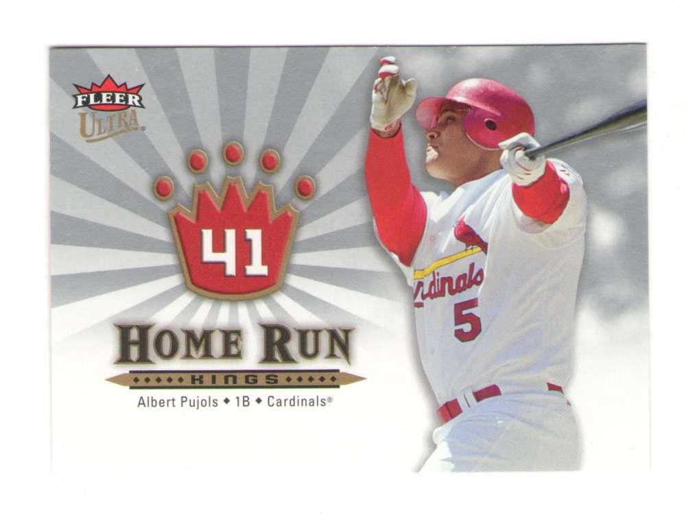 2006 Ultra Home Run Kings - CARDINALS