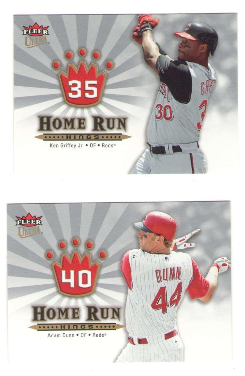 2006 Ultra Home Run Kings - REDS