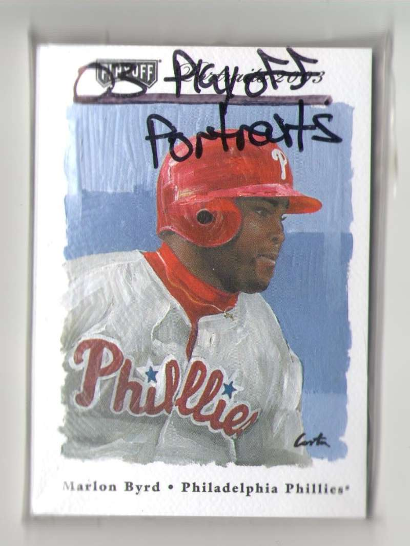 2003 Playoff Portraits - PHILADELPHIA PHILLIES Team Set