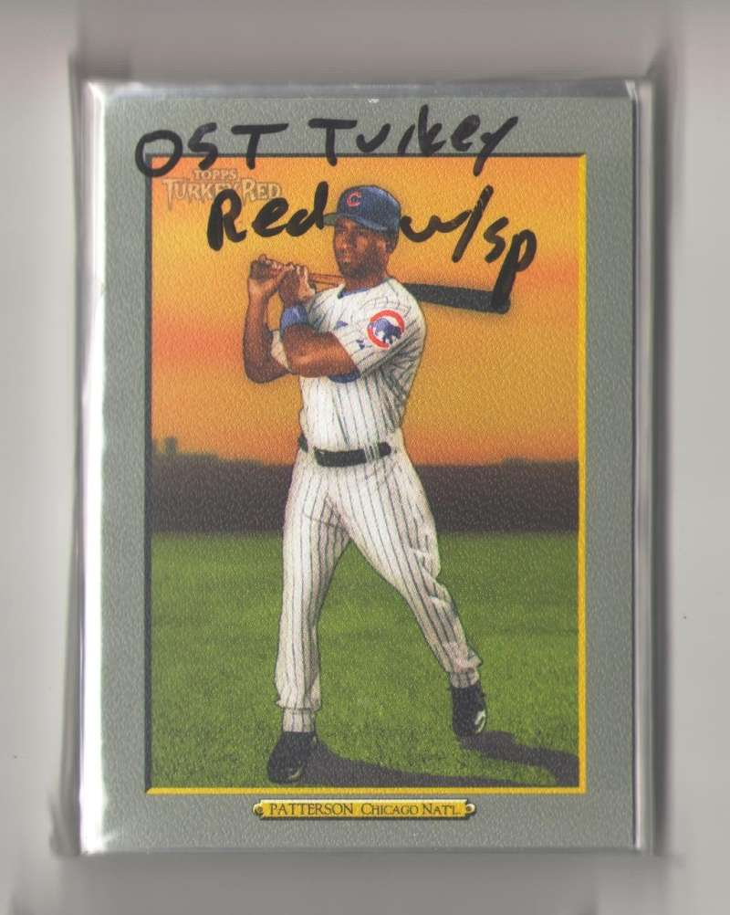 2005 Topps Turkey Red w/SPs - CHICAGO CUBS Team Set
