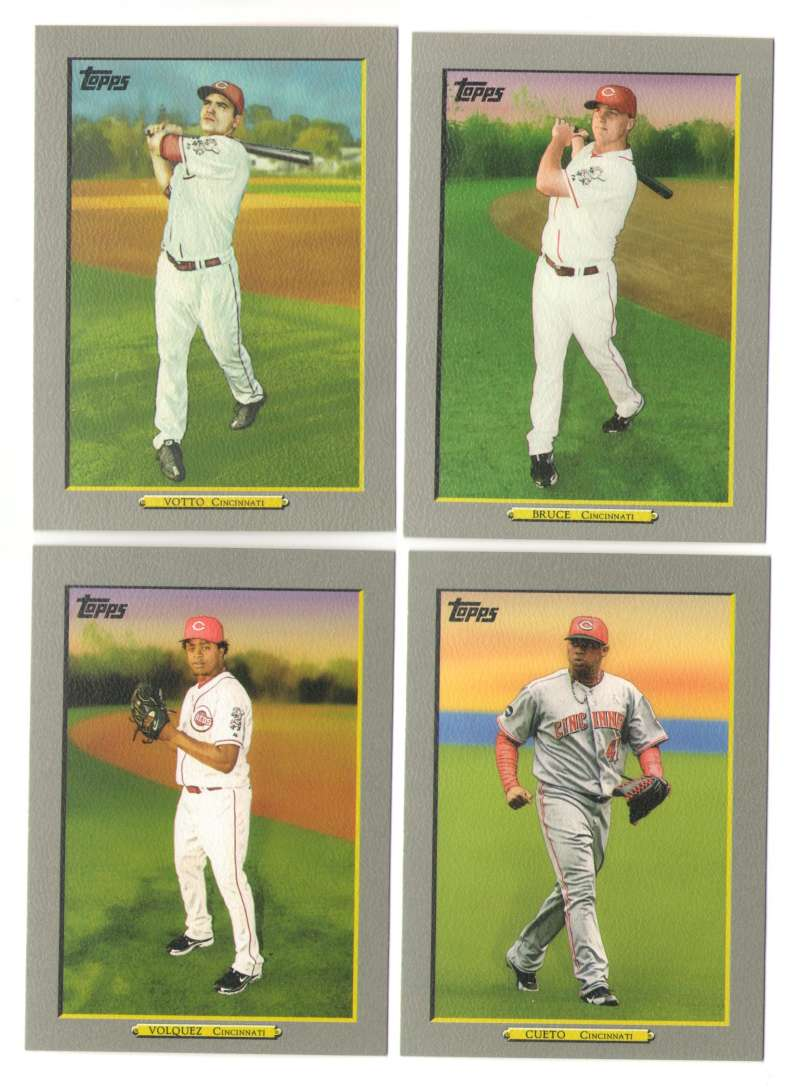 2009 Topps Turkey Red - CINCINNATI REDS Team Set