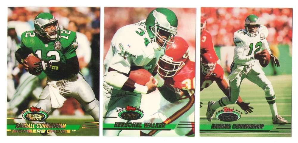 1993 Stadium Club Football Team Set 1-550 - PHILADELPHIA EAGLES