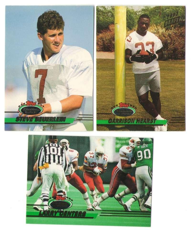 1993 Stadium Club Football Team Set 1-550 - PHOENIX CARDINALS