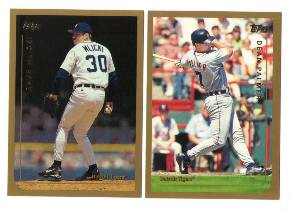 1999 Topps Traded - DETROIT TIGERS Team Set