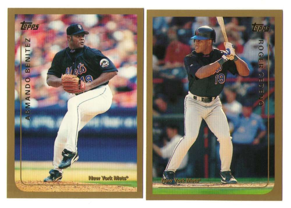 1999 Topps Traded - NEW YORK METS Team Set
