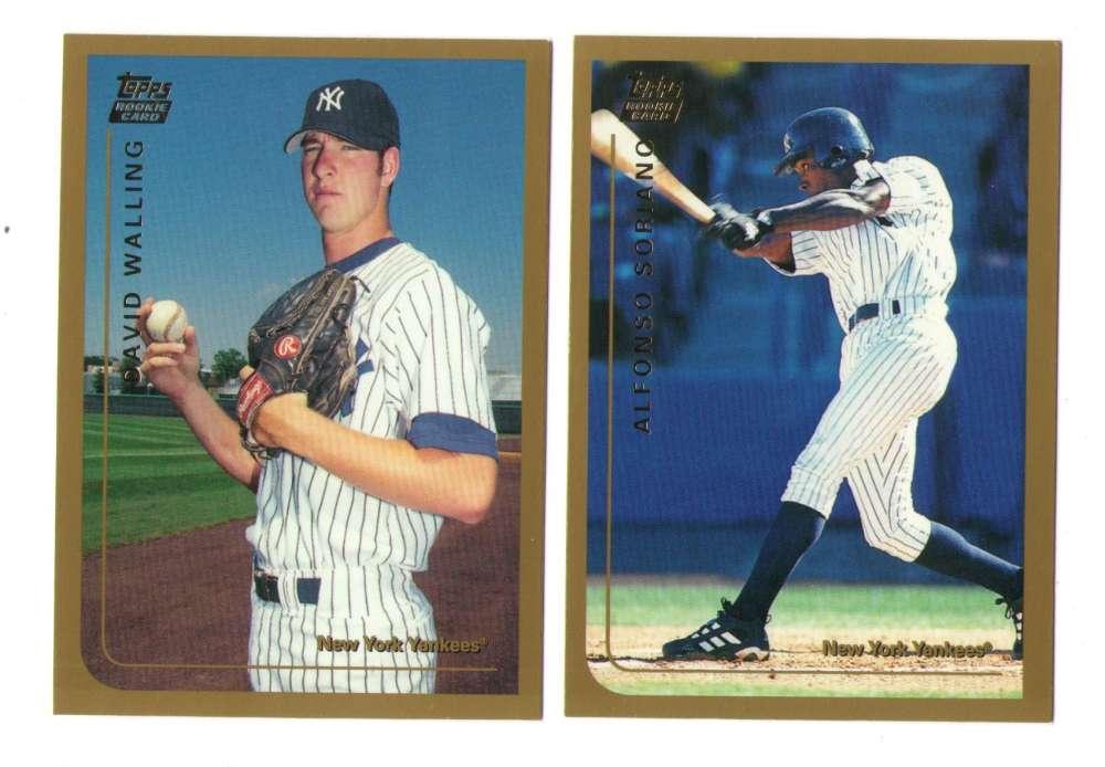 1999 Topps Traded - NEW YORK YANKEES Team Set
