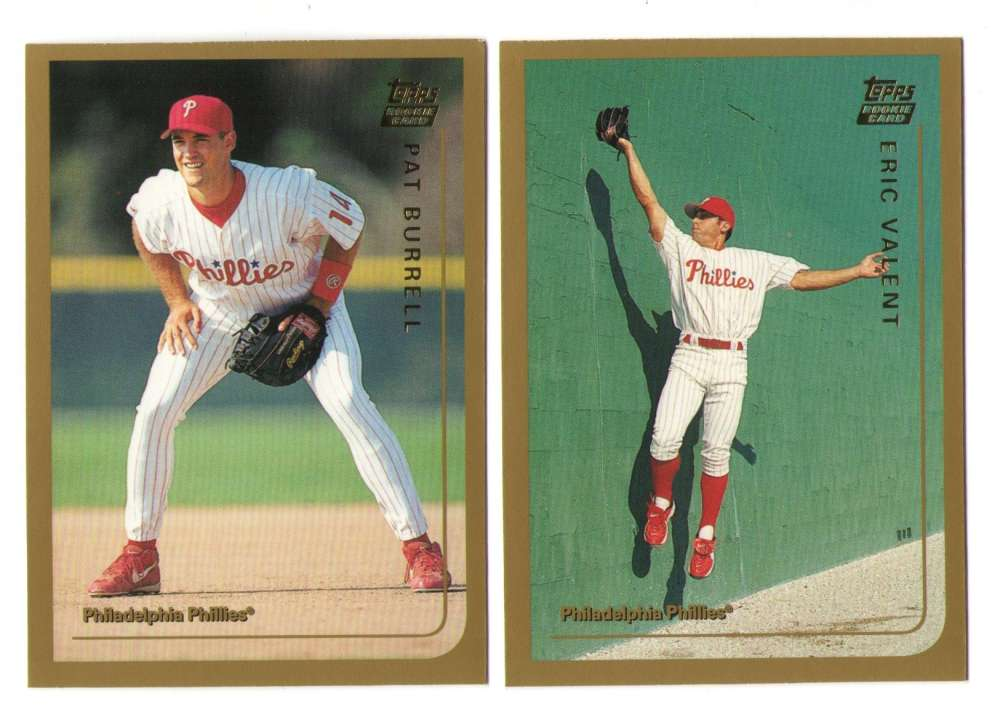 1999 Topps Traded - PHILADELPHIA PHILLIES Team Set