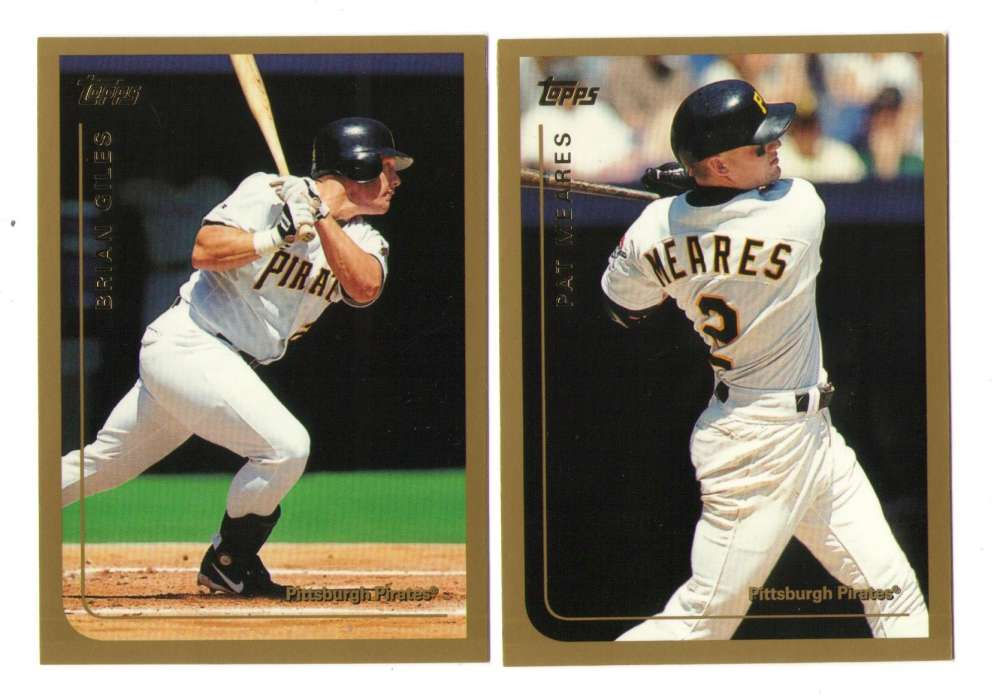 1999 Topps Traded - PITTSBURGH PIRATES Team Set