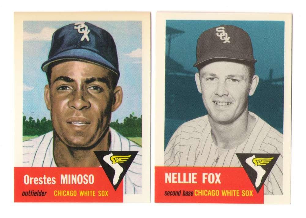 1953 Topps Archives (Reprints) - CHICAGO WHITE SOX Team Set