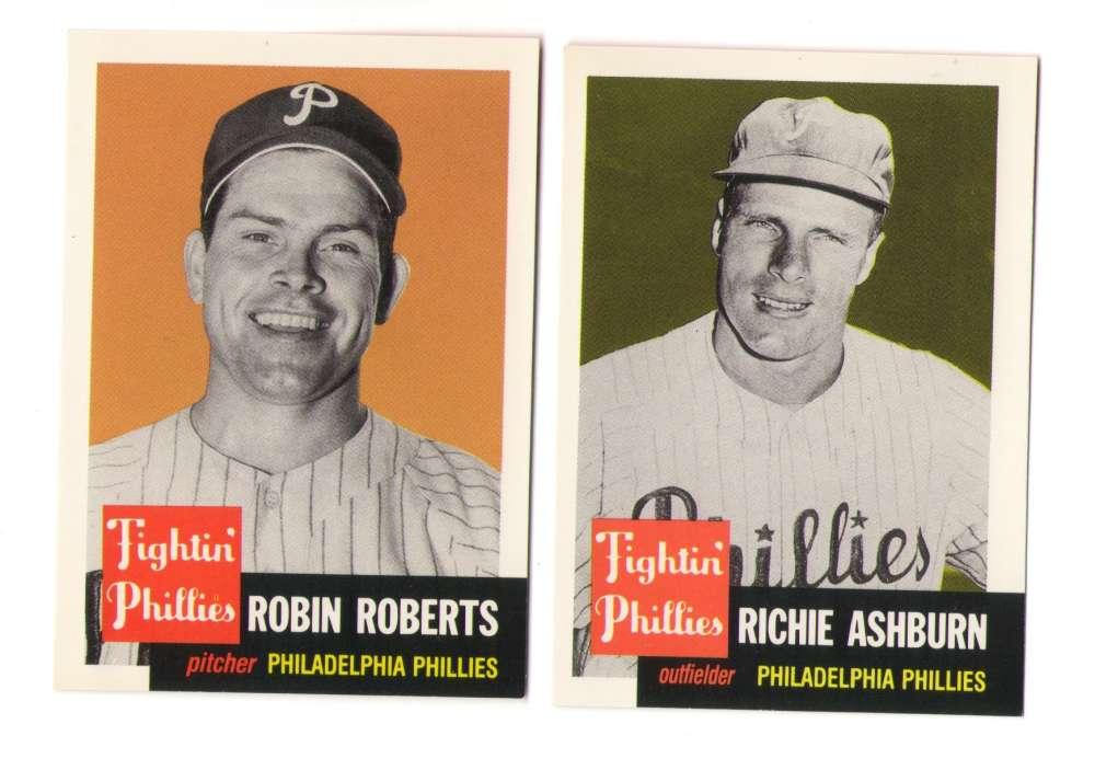 1953 Topps Archives (Reprints) - PHILADELPHIA PHILLIES Team Set