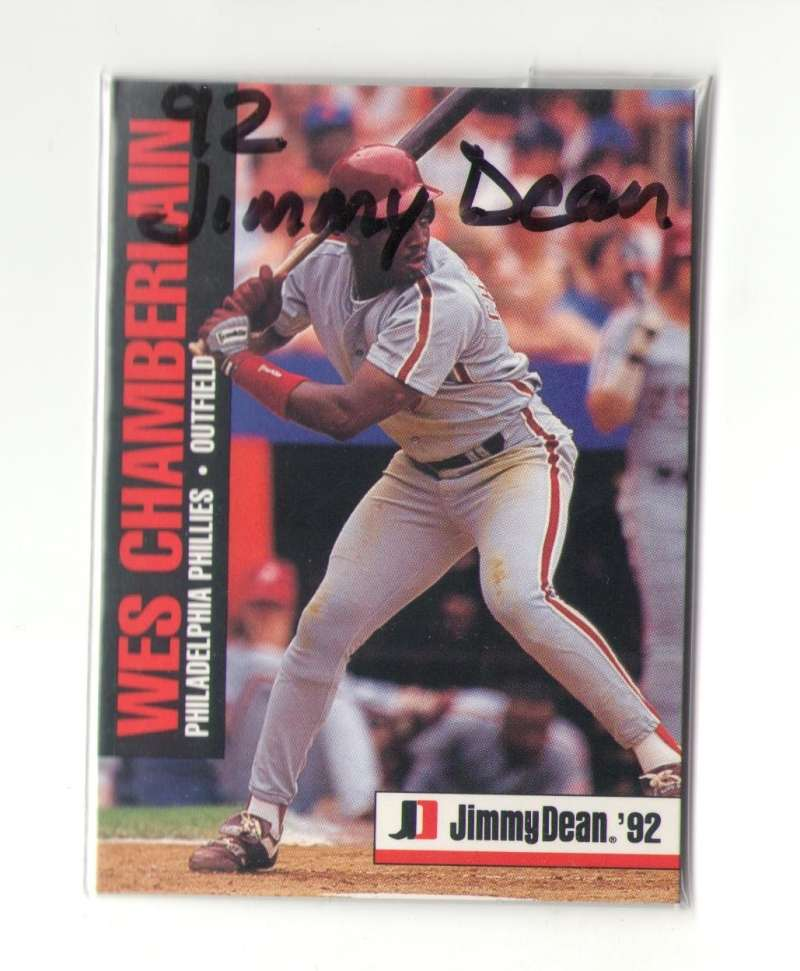 1992 Jimmy Dean - PHILADELPHIA PHILLIES Team Set