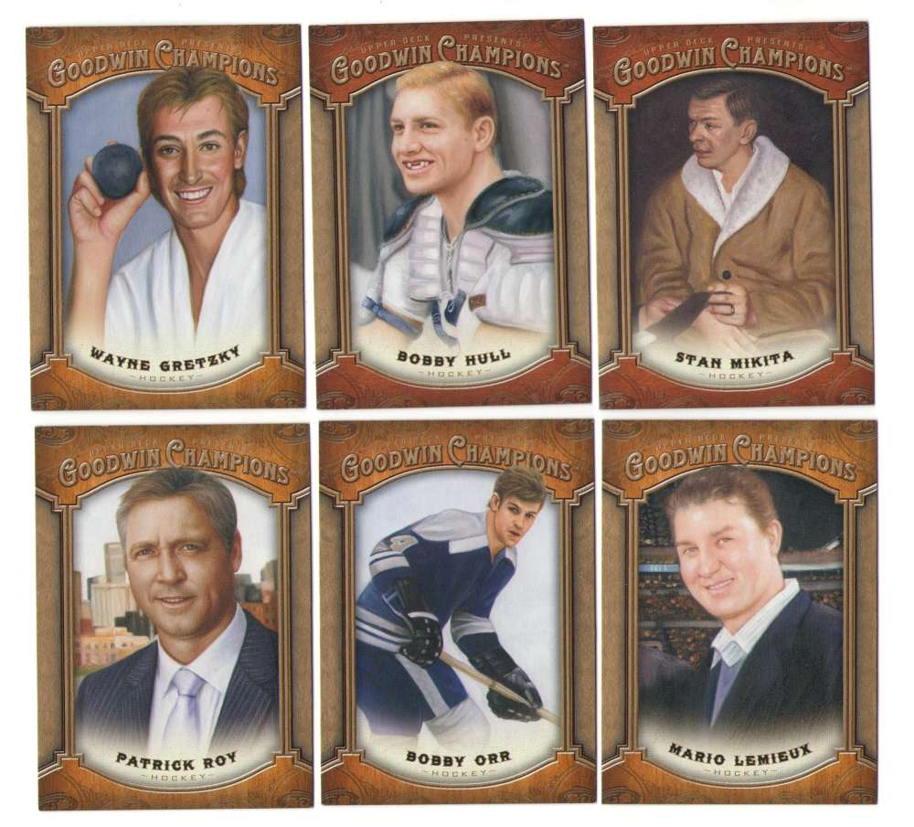 2014 Upper Deck Goodwin Champions (1-155) - HOCKEY PLAYERS