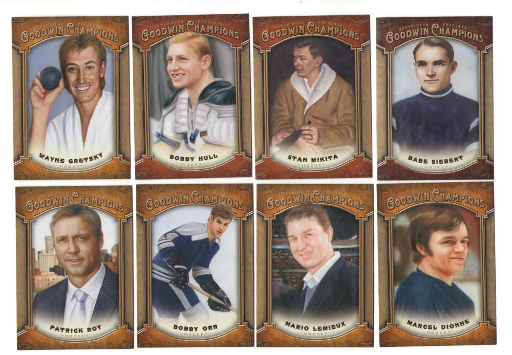 2014 Upper Deck Goodwin Champions (1-180) - HOCKEY PLAYERS