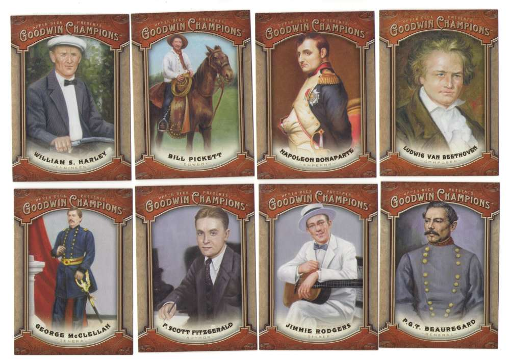 2014 Upper Deck Goodwin Champions (1-155) - HISTORICAL FIGURES