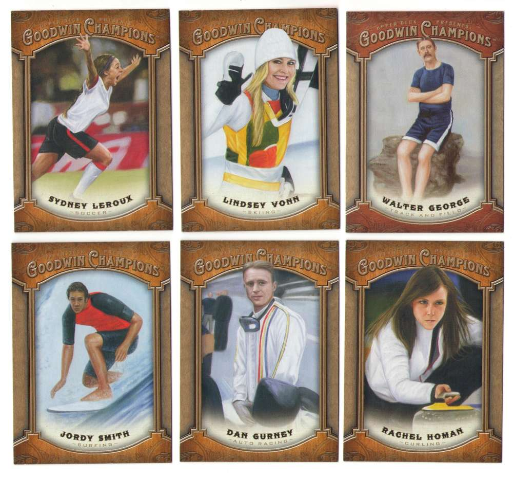 2014 Upper Deck Goodwin Champions (1-155) - OTHER SPORTS FIGURES