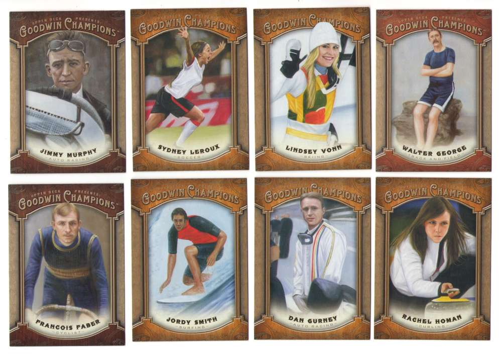 2014 Upper Deck Goodwin Champions (1-180) - OTHER SPORTS FIGURES