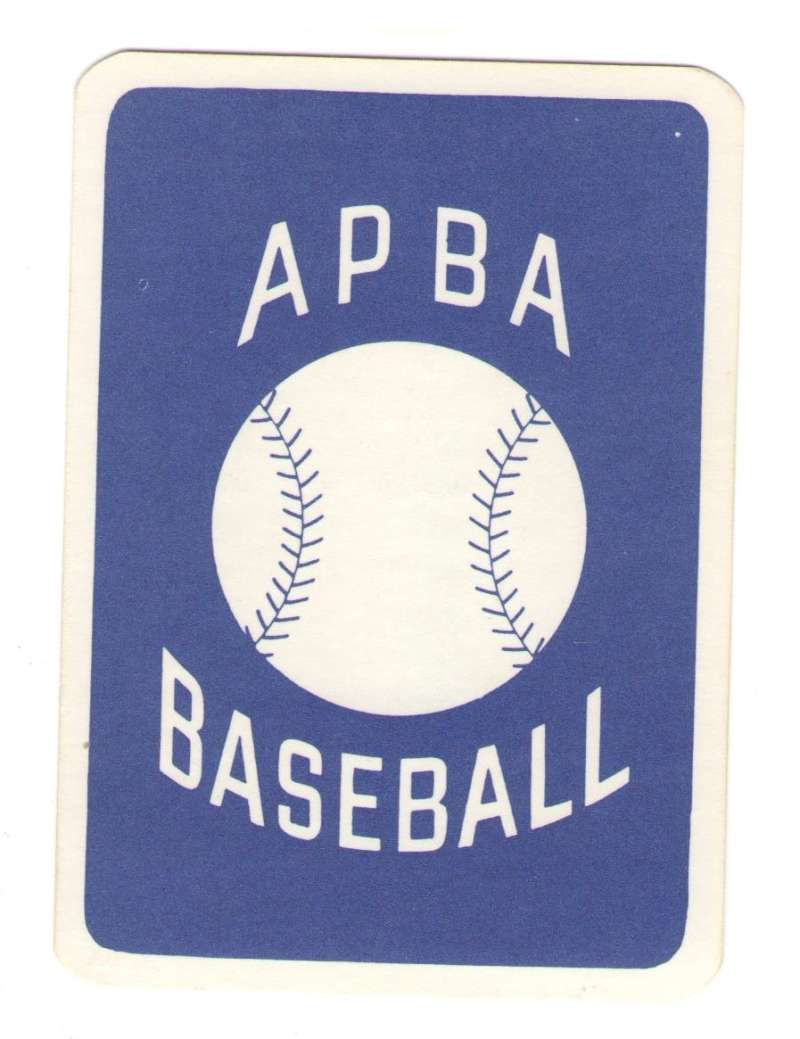 1962 APBA (Reprint) Season - CHICAGO WHITE SOX Team Set