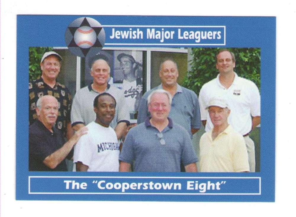 2006 Jewish Major Leaguers Update #48 Cooperstown Eight
