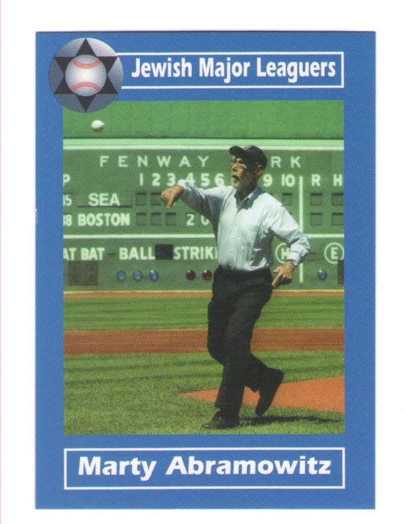 2006 Jewish Major Leaguers Update #54 Marty Abramowitz