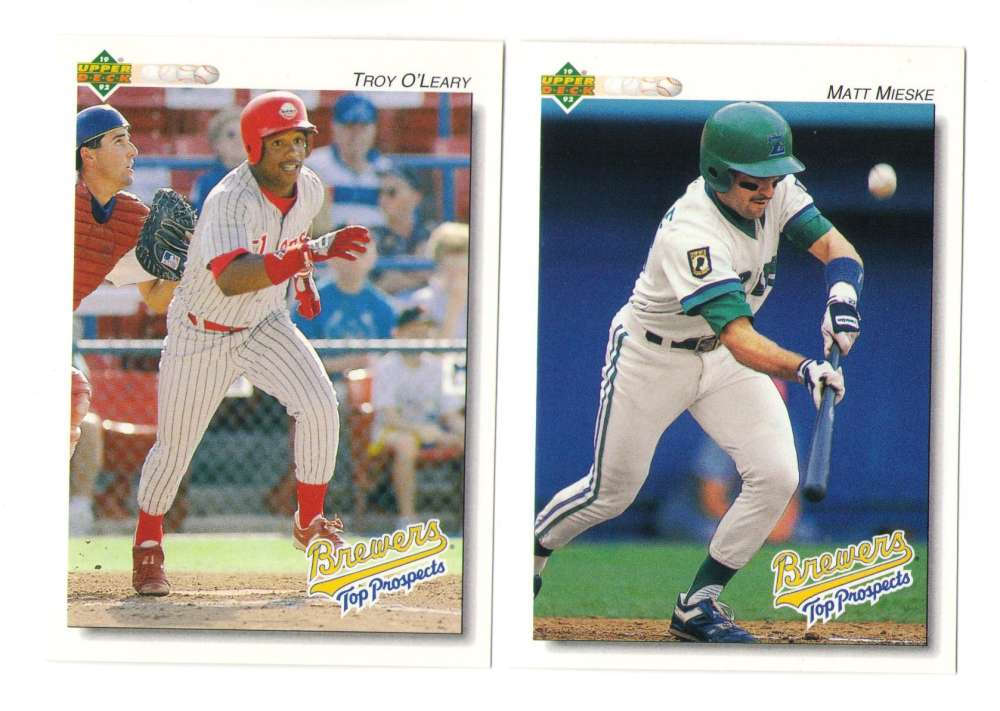 1992 Upper Deck Minors - MILWAUKEE BREWERS Team Set