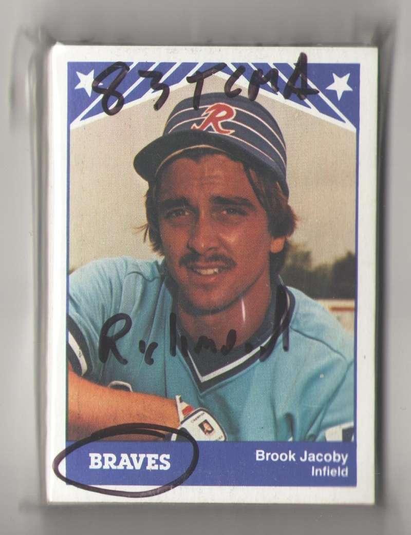 1983 TCMA Minor League Team Set - Richmond Braves