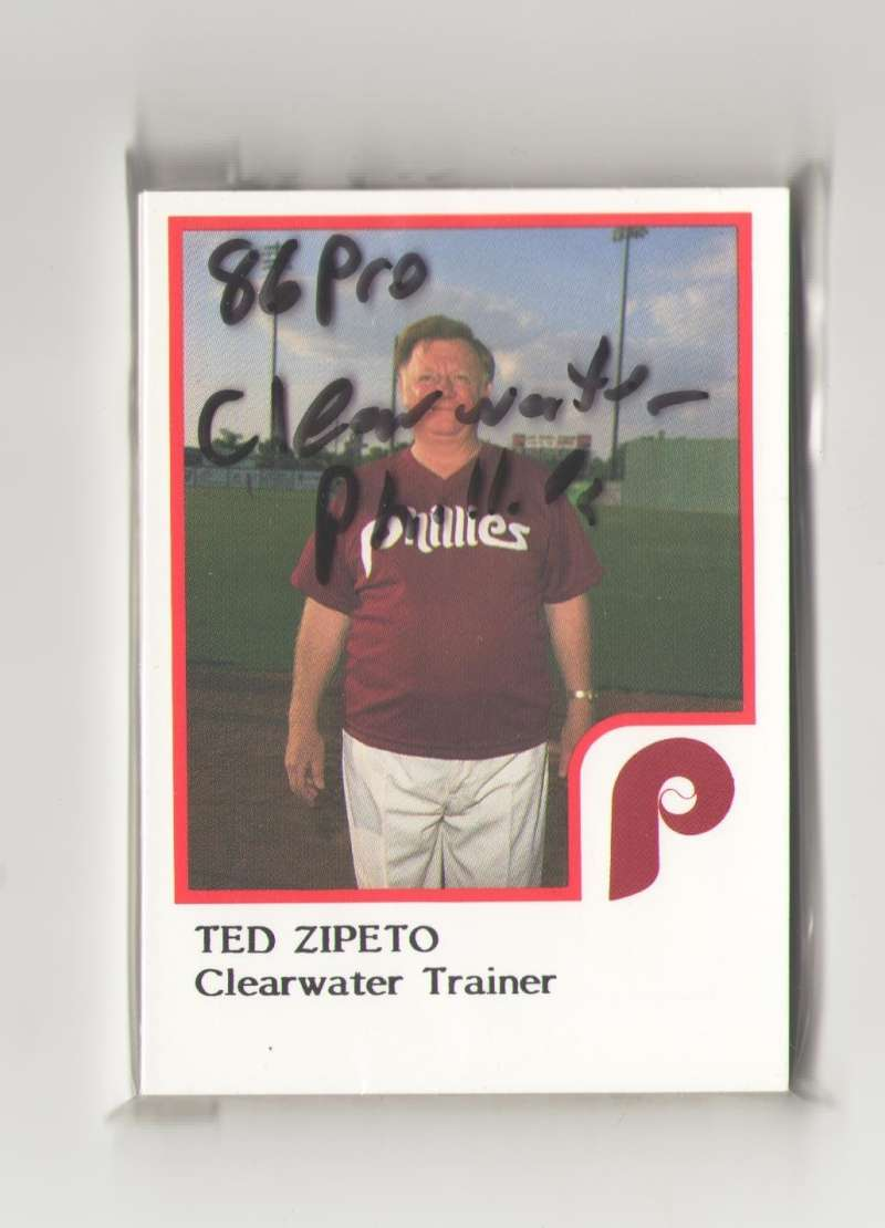 1986 ProCards Minor League Team Set - Clearwater PHILLIES