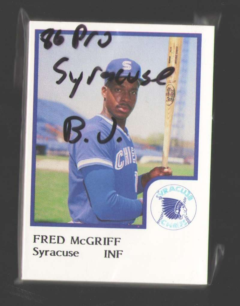 1986 ProCards Minor League Team Set - Syracuse Chiefs (Blue Jays)