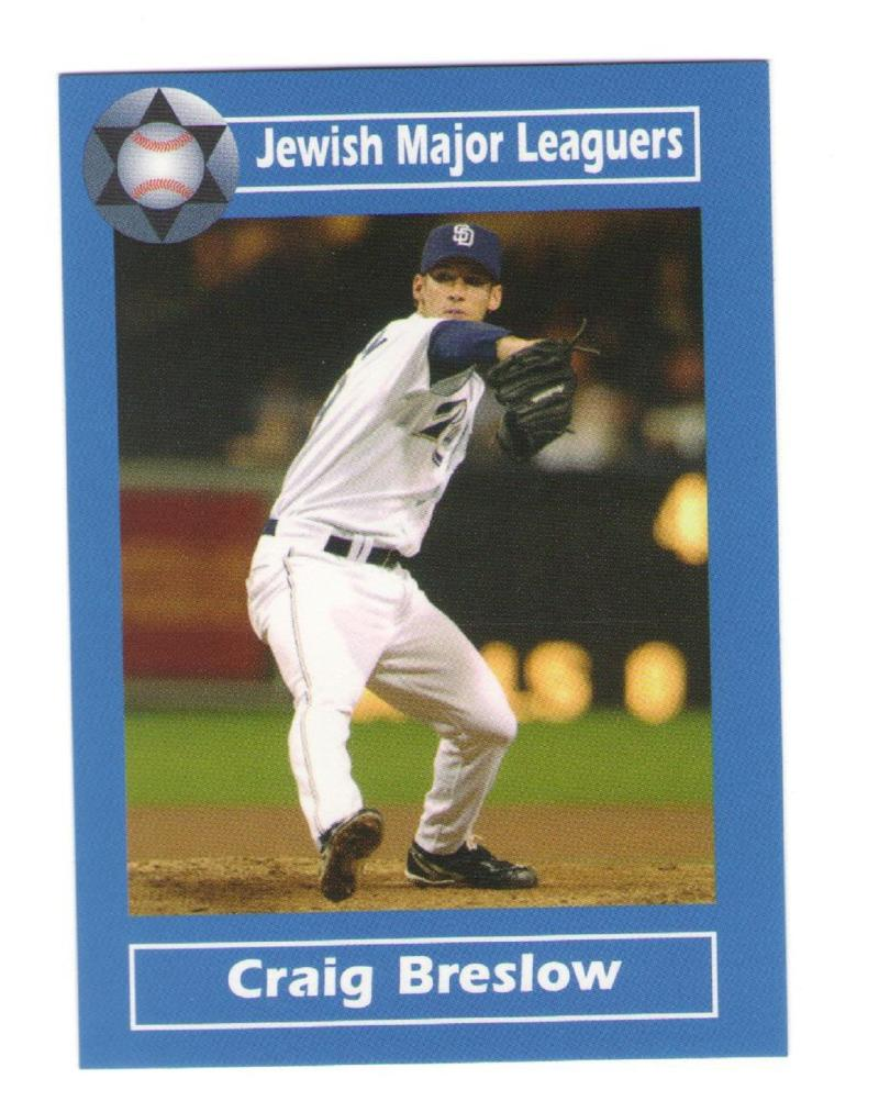 2006 Jewish Major Leaguers Update - San Diego PADRES