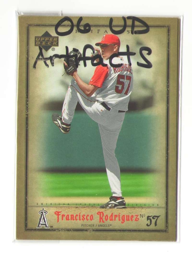 2006 Upper Deck ARTIFACTS - LOS ANGELES ANGELS Team Set