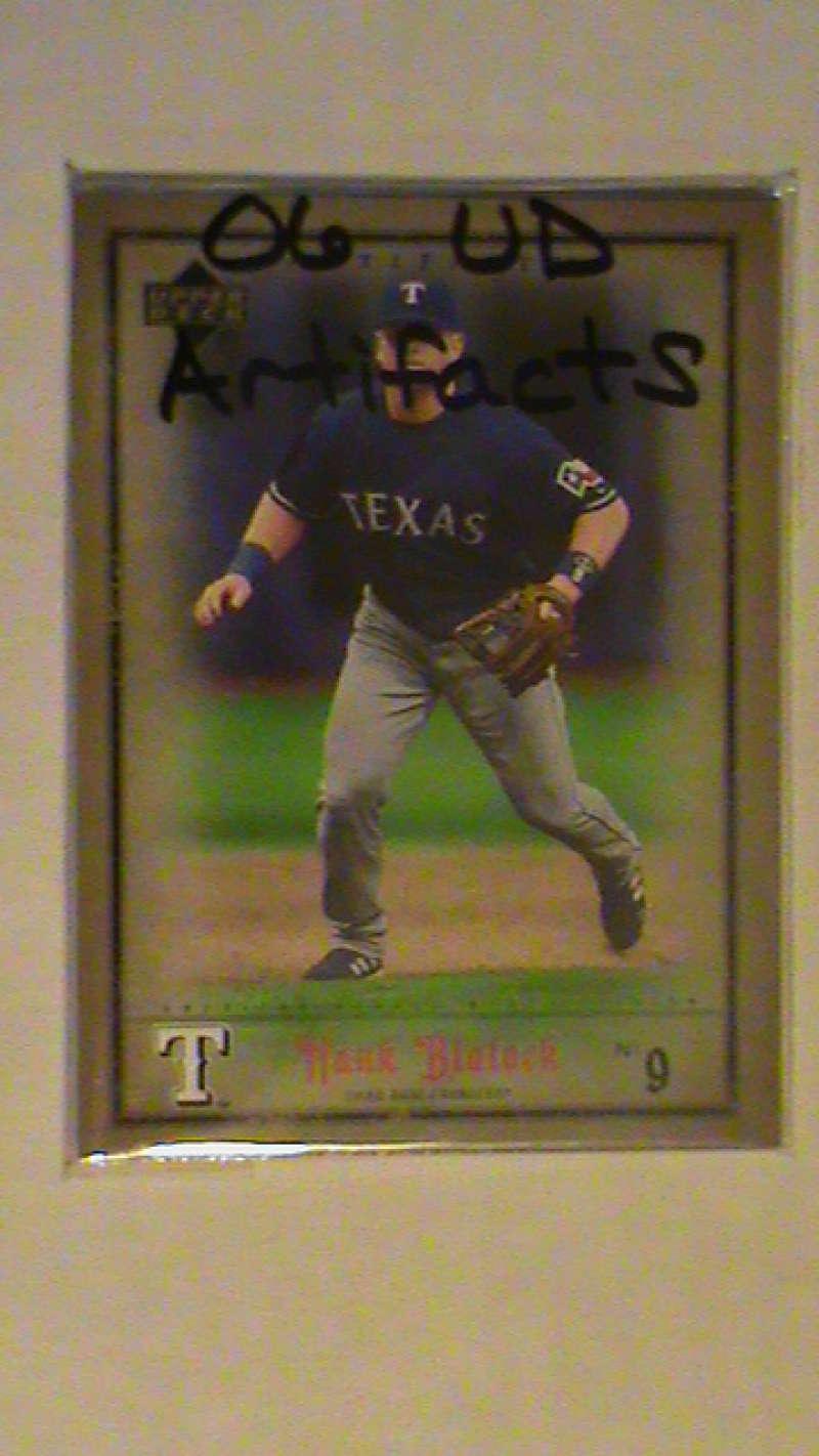 2006 Upper Deck ARTIFACTS - TEXAS RANGERS Team Set