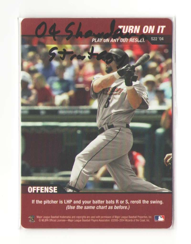 2004 MLB Showdown Strategy - HOUSTON ASTROS Team set